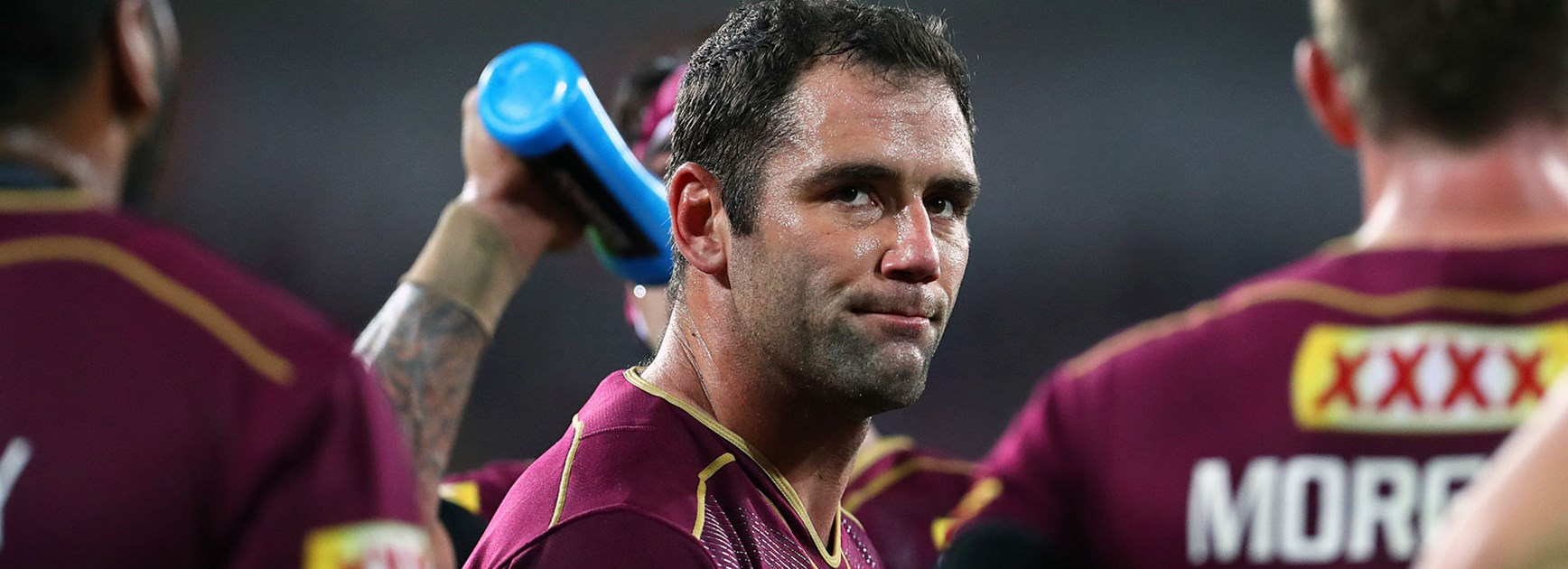NSW captain Paul Gallen believes Queensland counterpart Cameron Smith is the greatest player he's ever seen.
