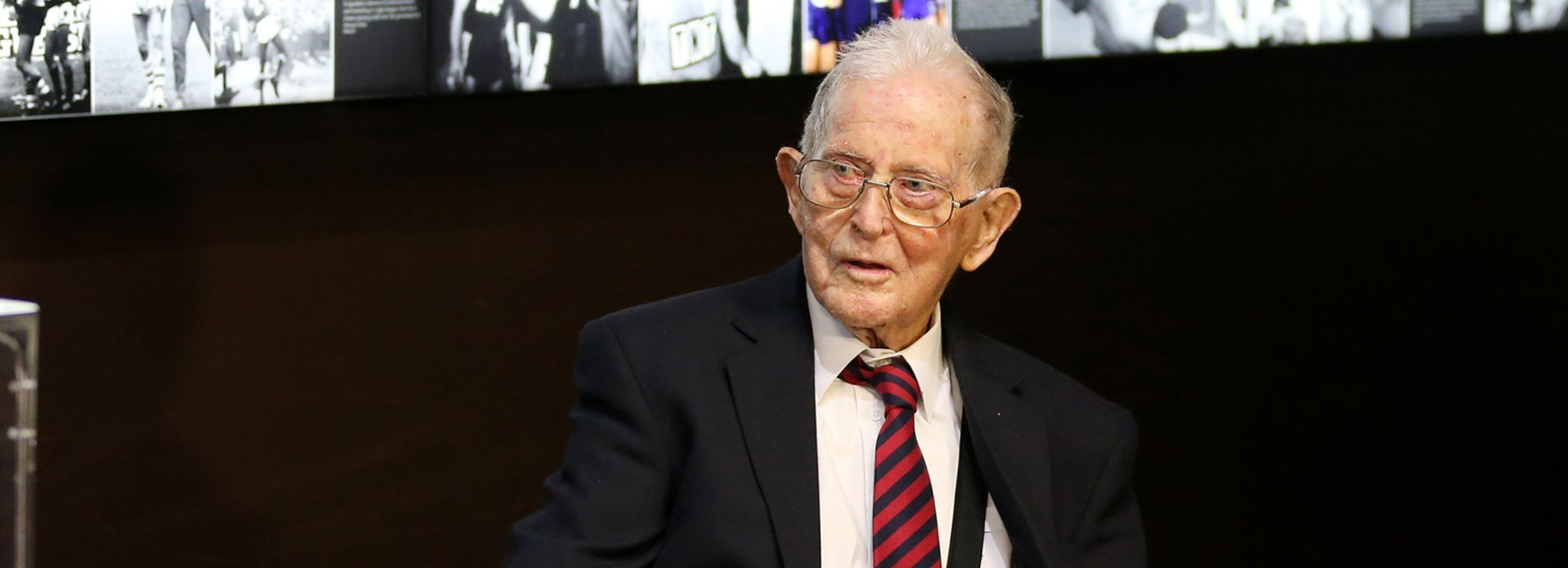 The NRL celebrated the 100th birthday of former referee Robert Culkin.