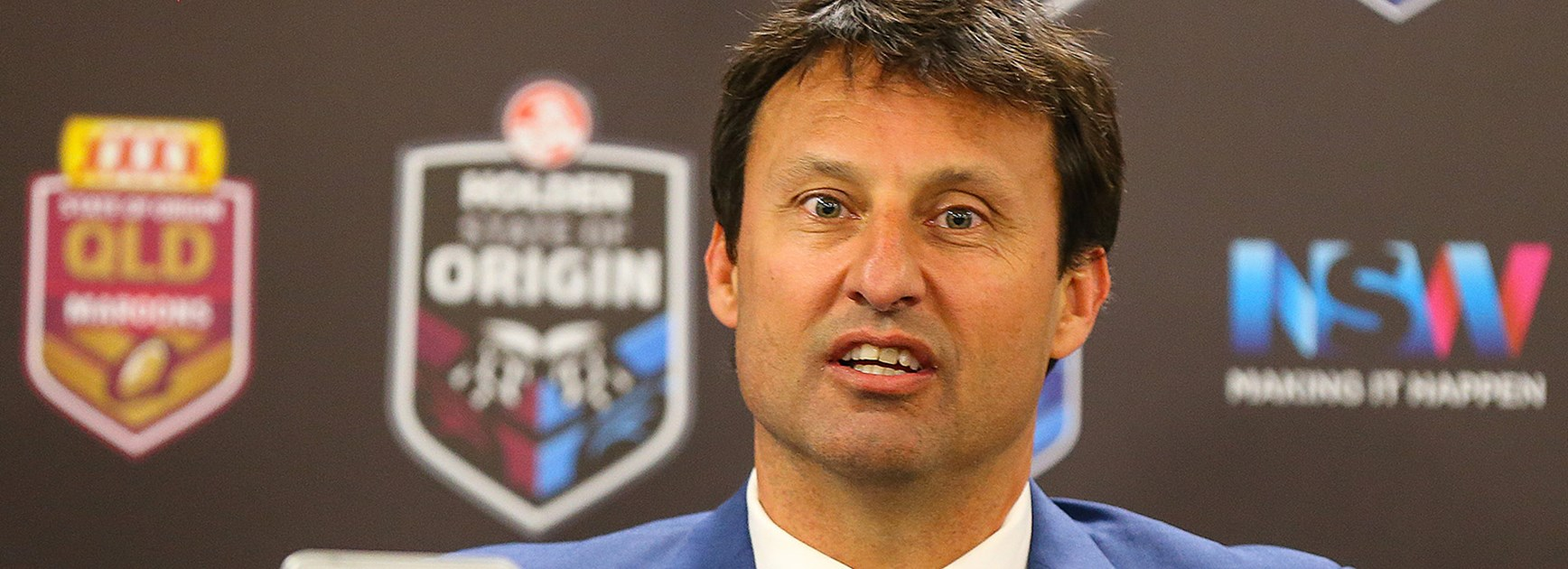 NSW coach Laurie Daley was relieved after a dramatic victory in Game Three.