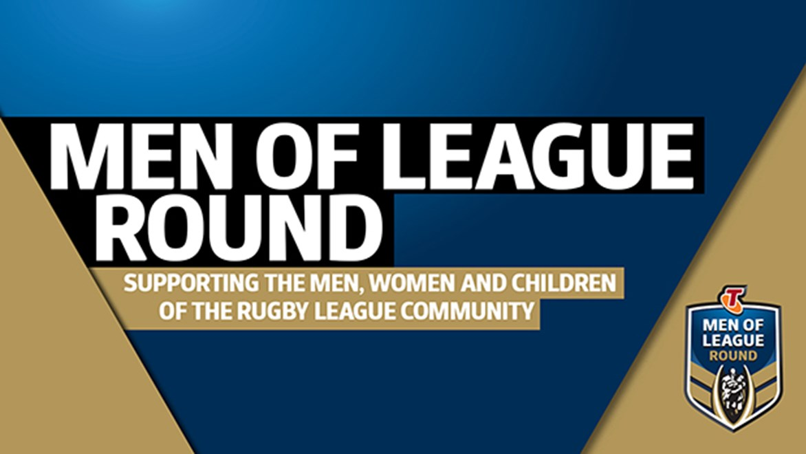 The NRL will thank its most valued supporters and volunteers when it celebrates the Men of League Round.