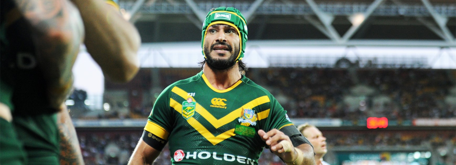 Johnathan Thurston is aiming to keep his Kangaroos spot through to the 2017 Rugby League World Cup.