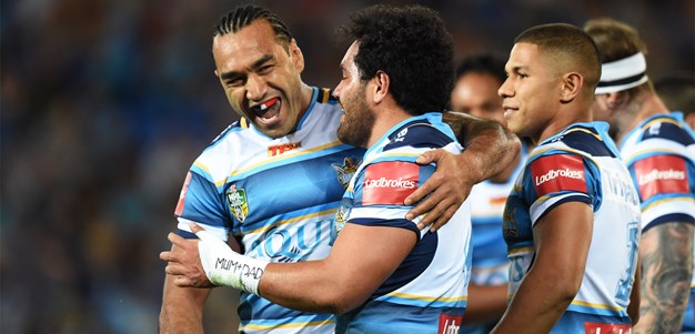 Titans romp home against Eels