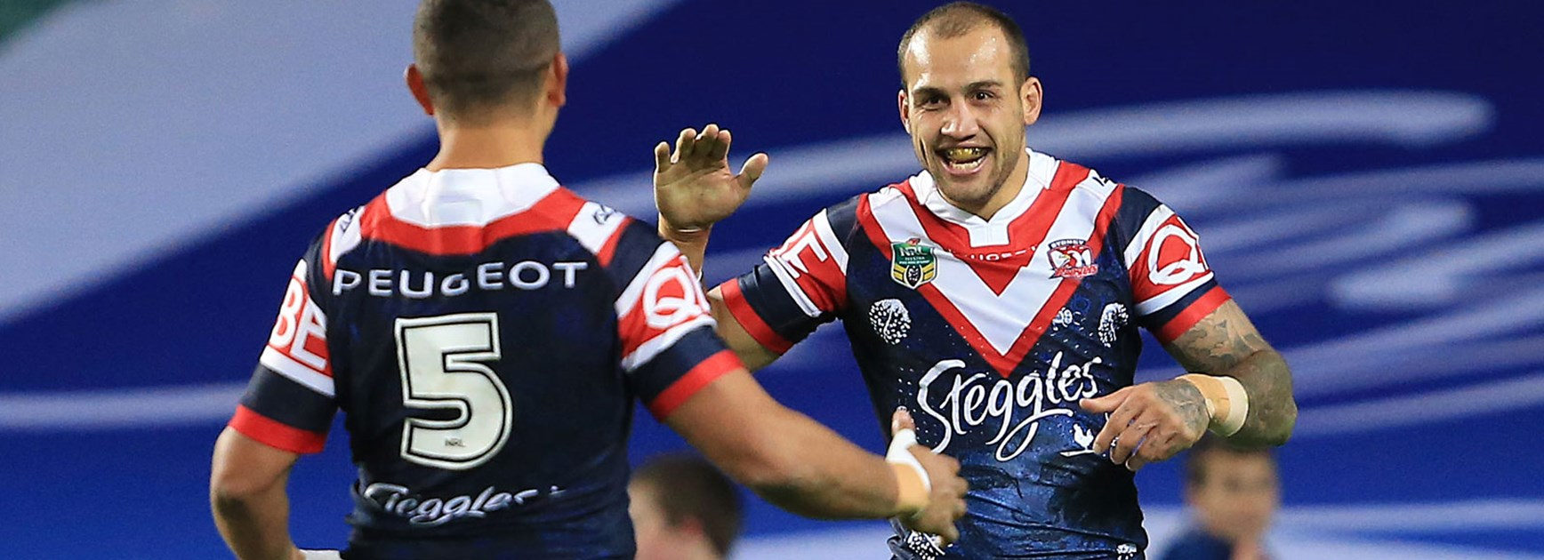 Roosters fullback Blake Ferguson was strong as his side downed the Broncos.
