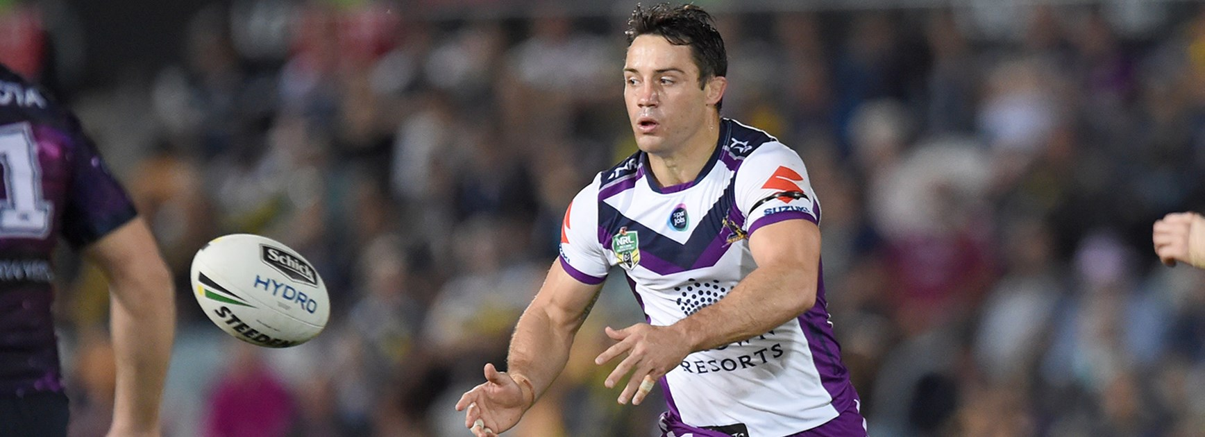 Cooper Cronk in action against the Cowboys.