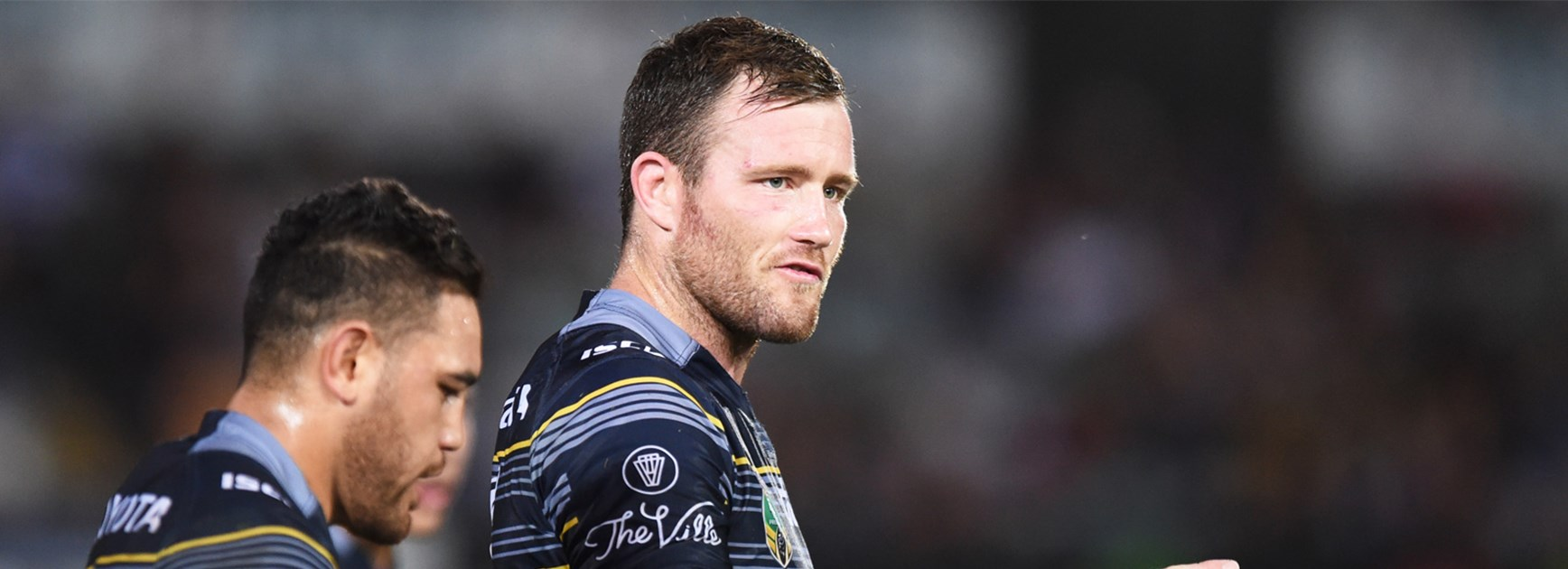Cowboys veteran and new State of Origin debutant Gavin Cooper.