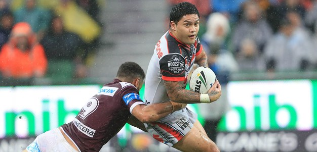 Updated team lists: Warriors v Wests Tigers