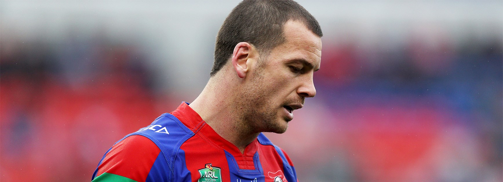 Jarrod Mullen made a costly error against the Bulldogs on Saturday.