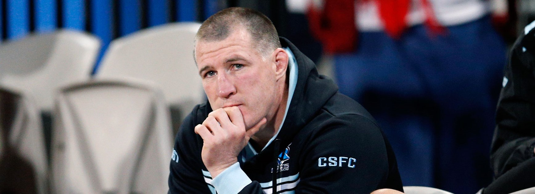 Sharks captain Paul Gallen was a late exclusion in Round 23.