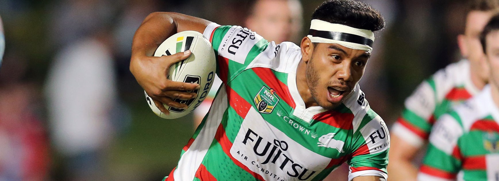 Rabbitohs centre Hymel Hunt believes he's found a home at South Sydney.