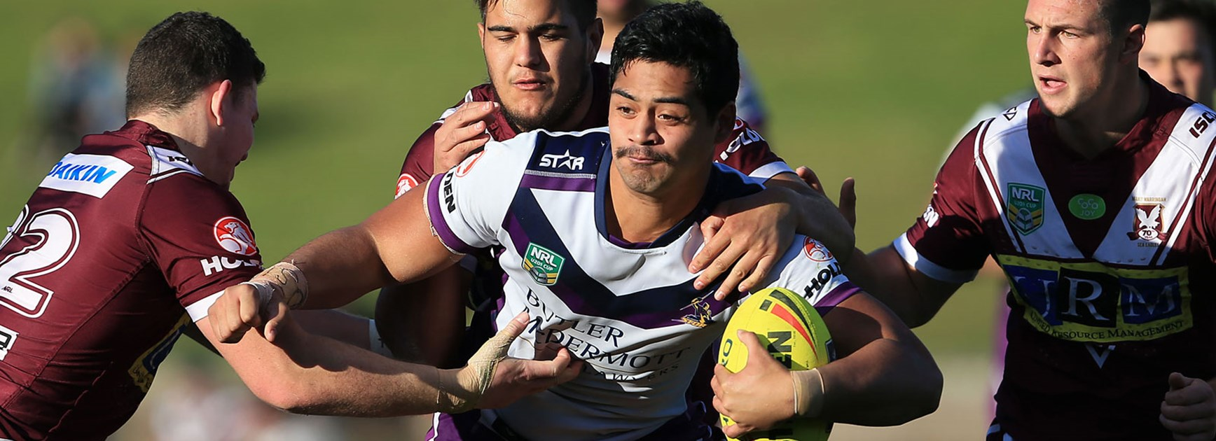 The Storm and Sea Eagles played out a draw in their NYC clash in Round 24.