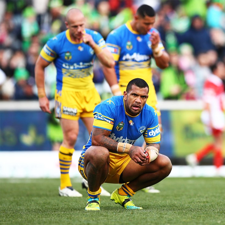 Eels not getting rewarded for effort: Arthur