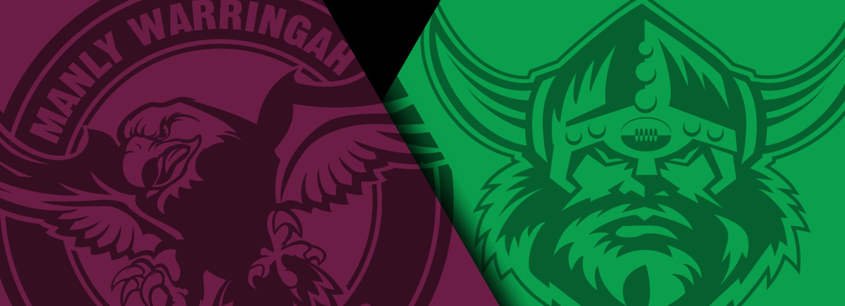Sea Eagles v Raiders.