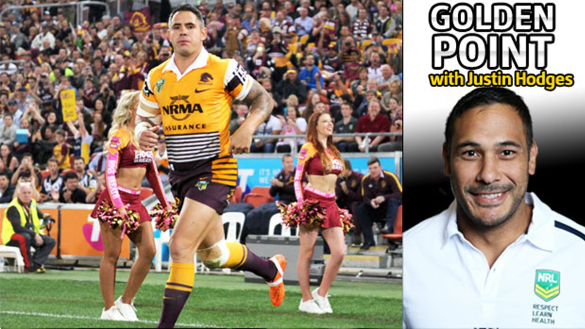 Corey Parker is just one of many stars of the NRL to retire at the end of the season.