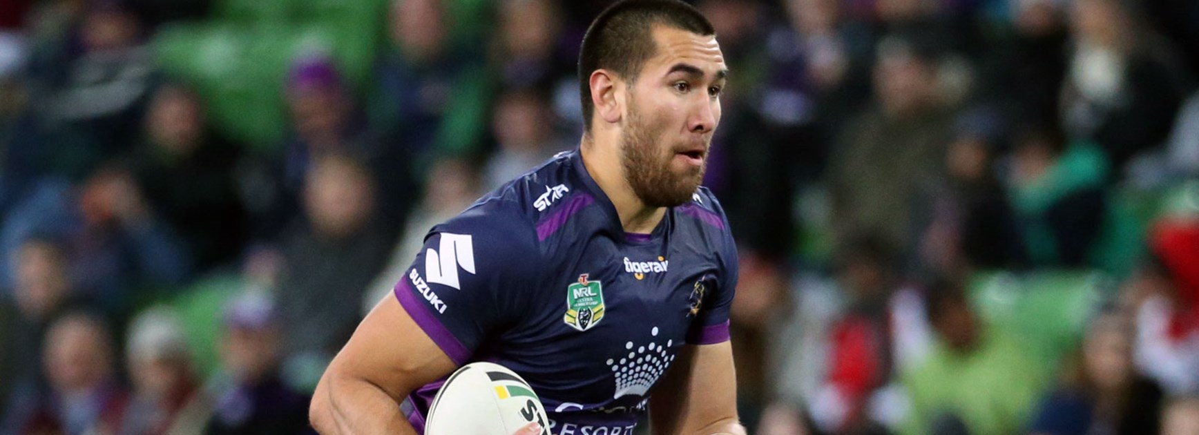Storm forward Nelson Asofa-Solomona was cited by the NRL match review committee in Round 25.