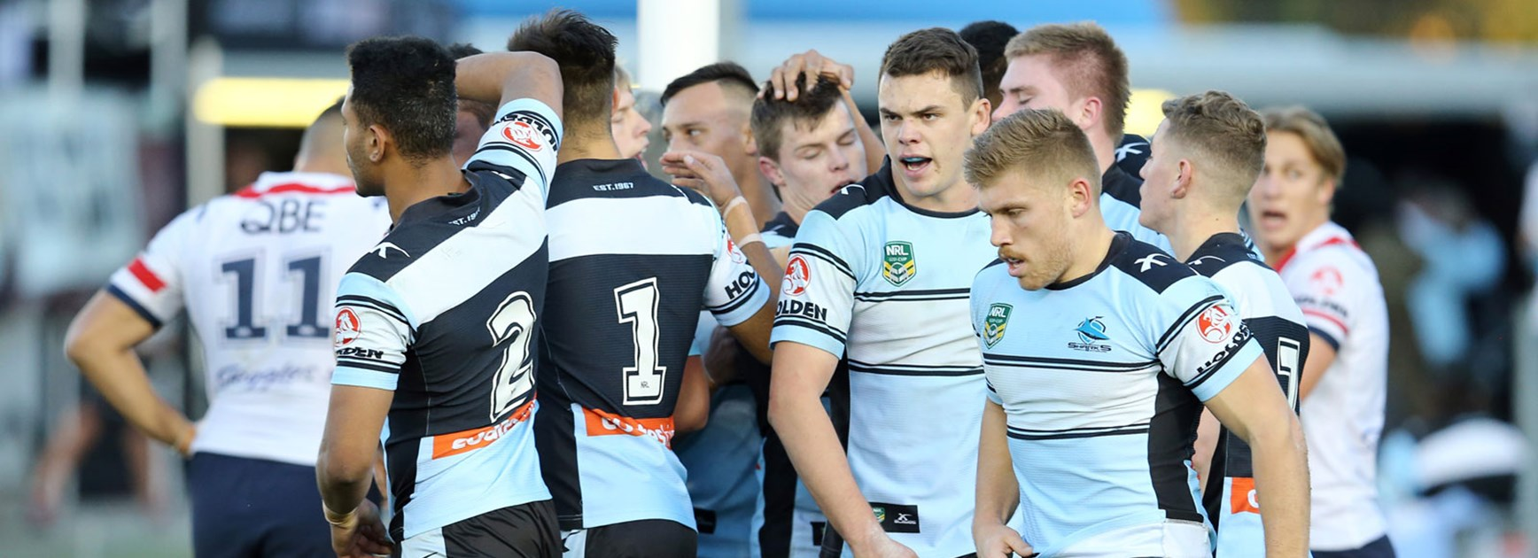 The Sharks NYC side enjoyed a tight victory over the Roosters in Round 25.