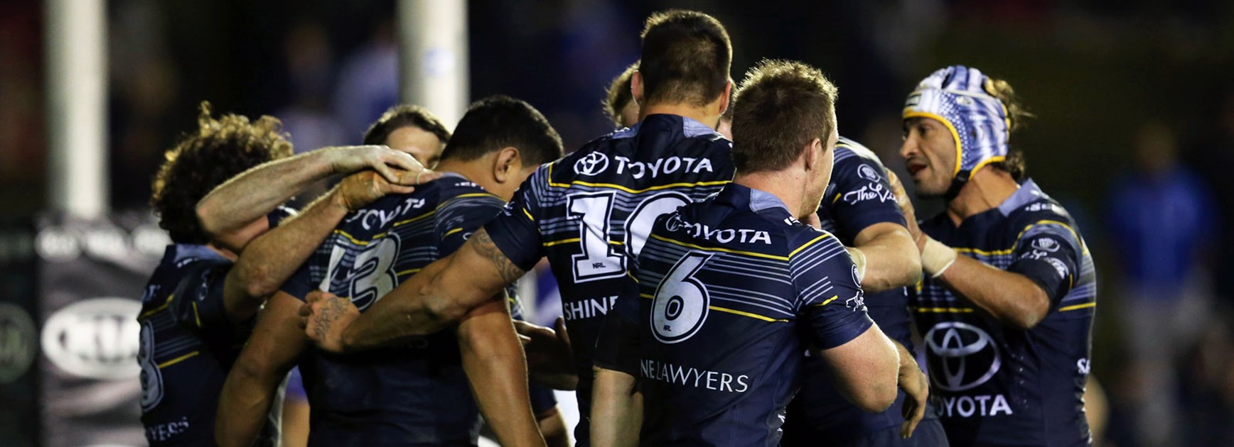 The Cowboys enjoyed a big win over the Bulldogs in Round 25.