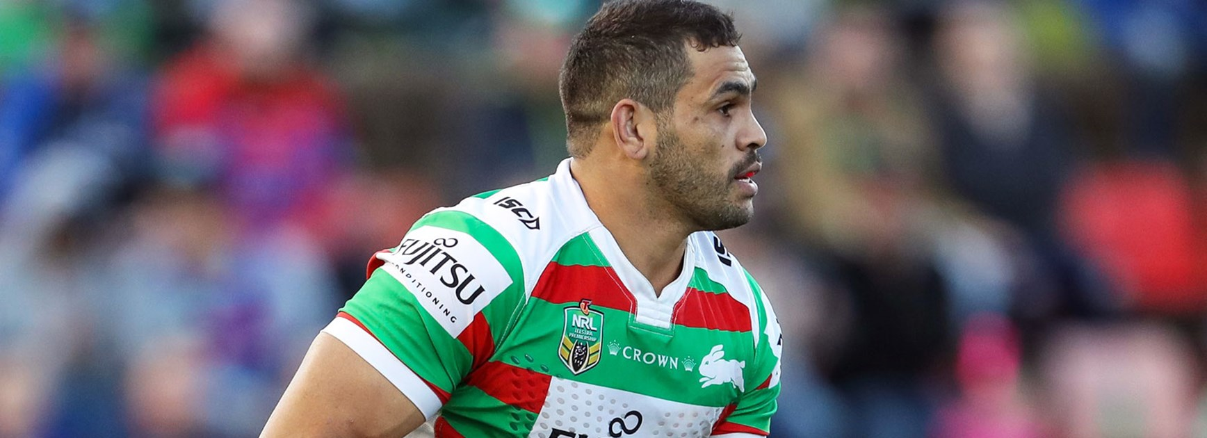 Souths captain Greg Inglis is fit and ready to face the Bulldogs in Round 26.