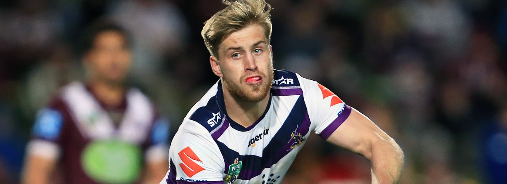 Storm fullback Cameron Munster was strong against the Sea Eagles in Round 24.