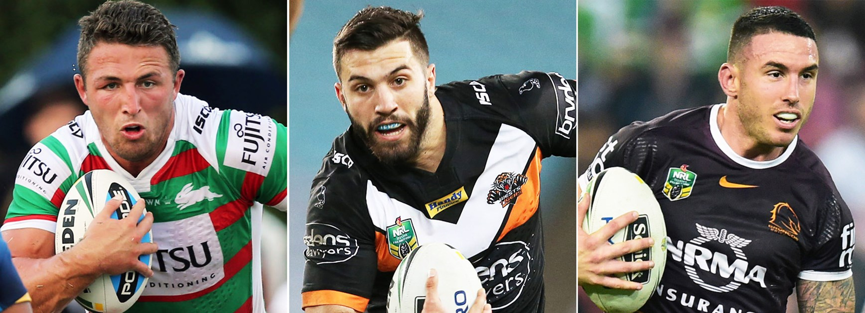 Sam Burgess, James Tedesco and Darius Boyd all earned their place in NRL.com's top 20.