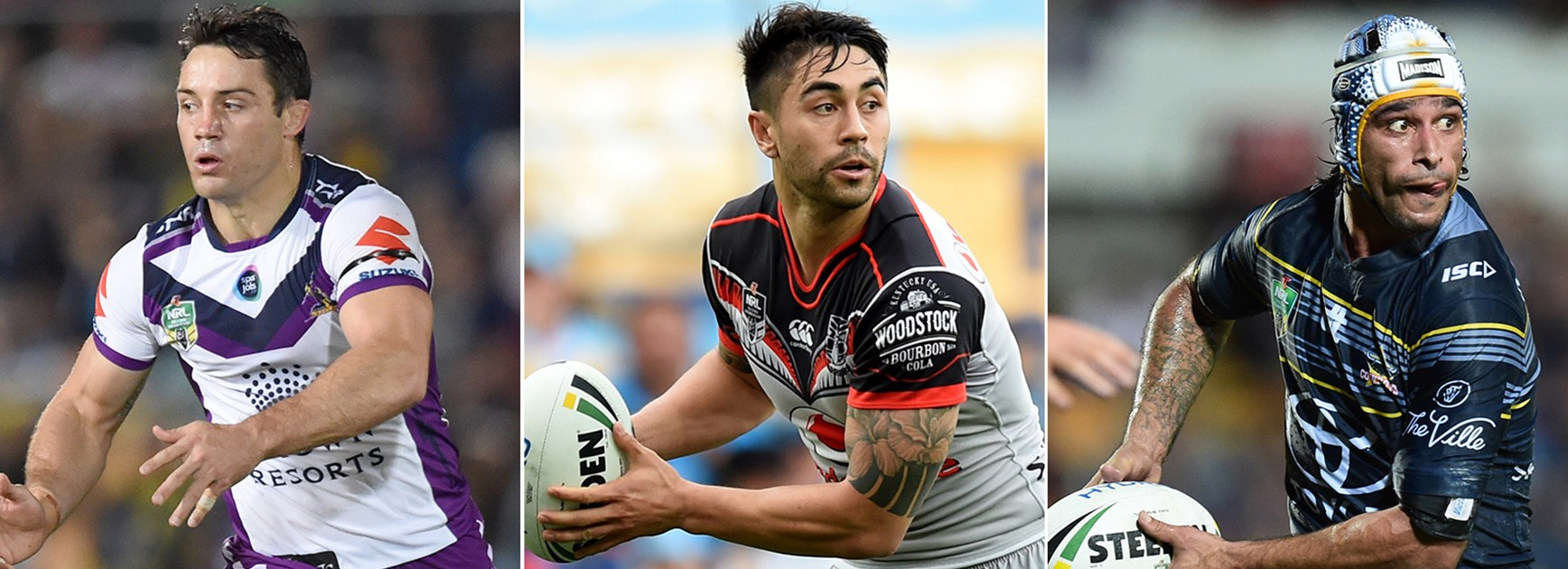 Cooper Cronk, Shaun Johnson and Johnathan Thurston all earned their place in NRL.com's top 10.