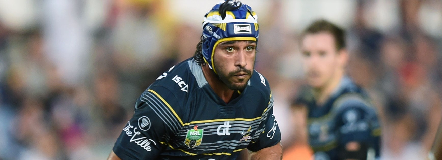 Cowboys halfback Johnathan Thurston against the Titans in Round 26.