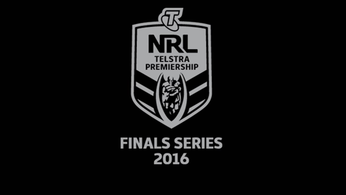2016 NRL Telstra Premiership Finals Series.