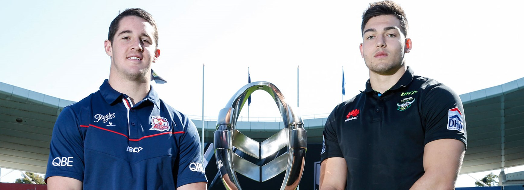 The Roosters and Raiders meet in the first week of the 2016 Holden Cup Finals Series.