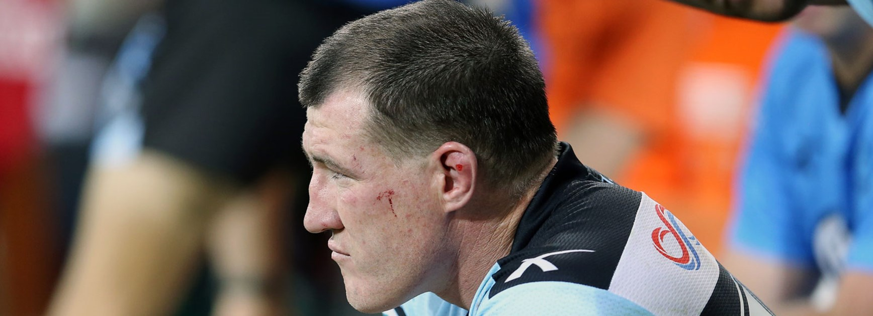 Sharks captain Paul Gallen was a late withdrawal for his side's qualifying final win over the Raiders.