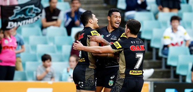 No stage fright for Panthers' finals rookies
