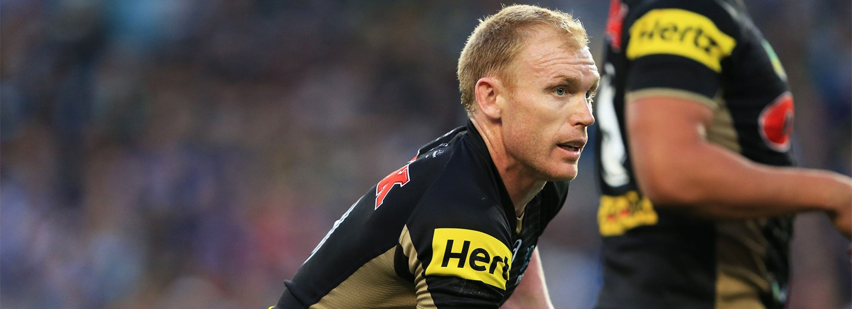 Peter Wallace was impressive out of dummy-half again for Penrith on Sunday.