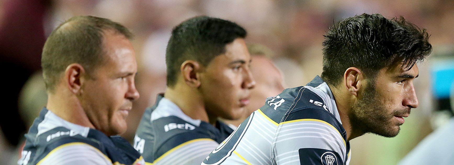 North Queensland Cowboys' minds are focused on beating the Broncos in an NRL semi-final.