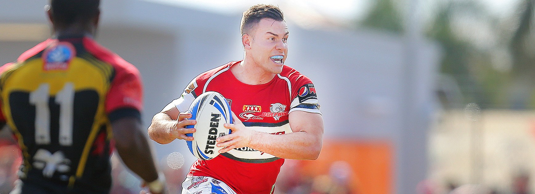 Injured halfback Darren Nicholls has not been named by Redcliffe for Sunday's Intrust Super Cup Grand Final.