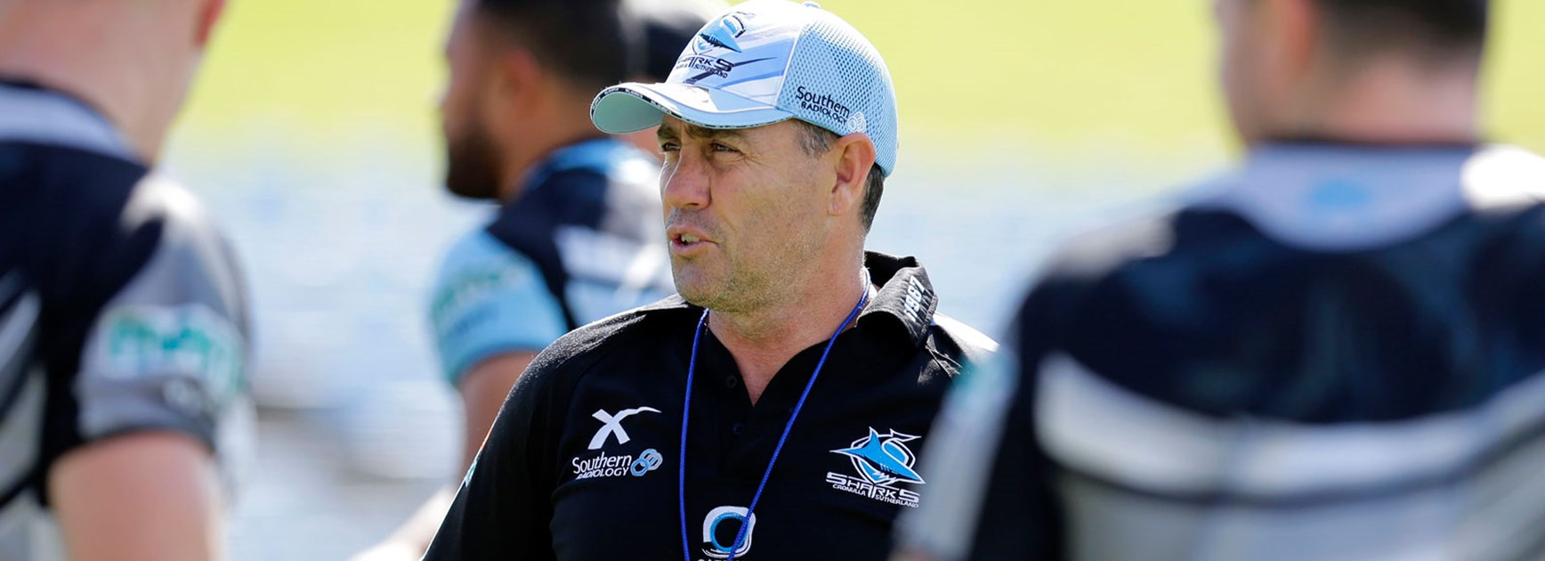 Sharks coach Shane Flanagan has laughed off comments made by Raiders counterpart Ricky Stuart.