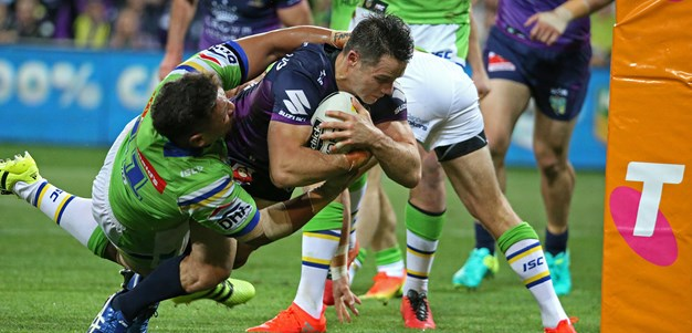 Storm hang on to beat Raiders