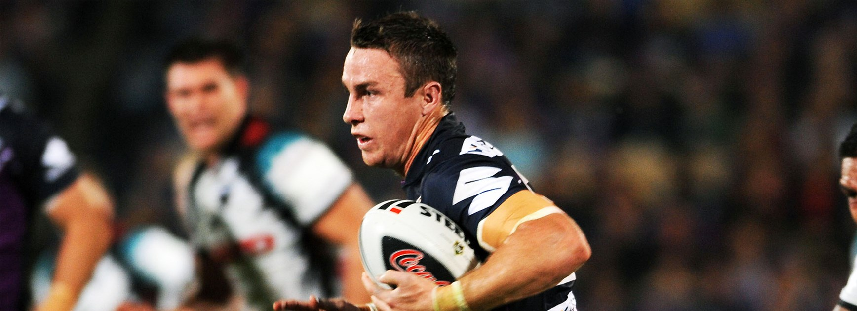 James Maloney in action for the Melbourne Storm in 2009.