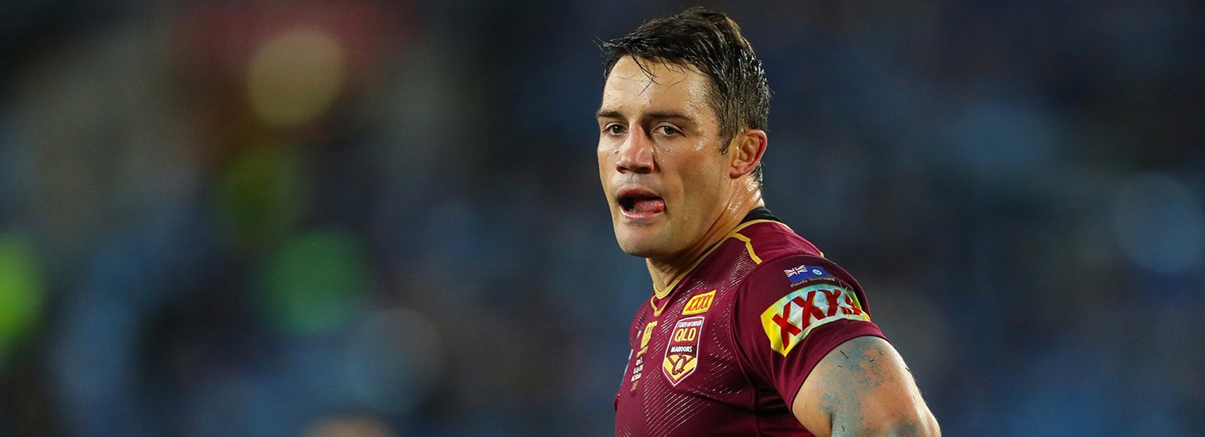 Cooper Cronk is sent to the sin bin during State of Origin III.