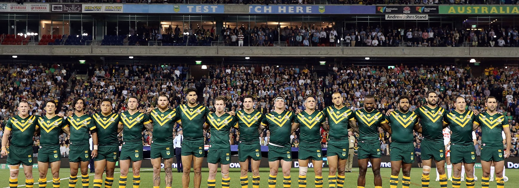 The Kangaroos have named their squad for the Test against New Zealand and Four Nations tournament.