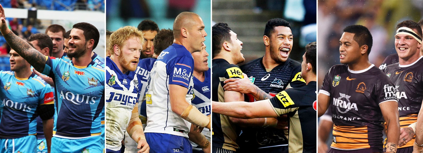 Can the Titans, Bulldogs, Panthers and Broncos challenge for a premiership in 2017?