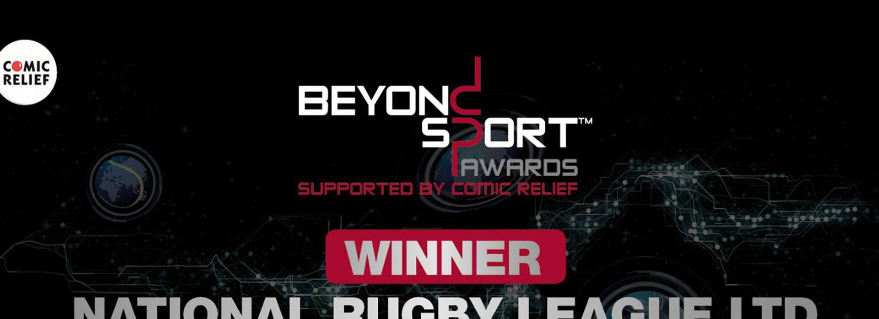 The NRL has been recognised by the Beyond Sport awards.