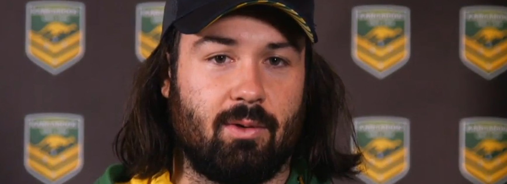 Aaron Woods is looking forward to getting back in the green and gold.