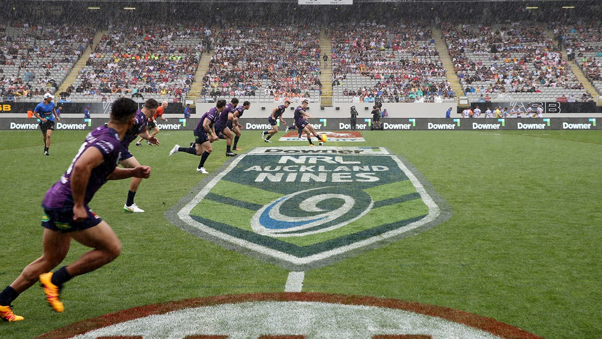 Melbourne Storm kicked-off their 2016 Auckland Nines with a win over Parramatta Eels.