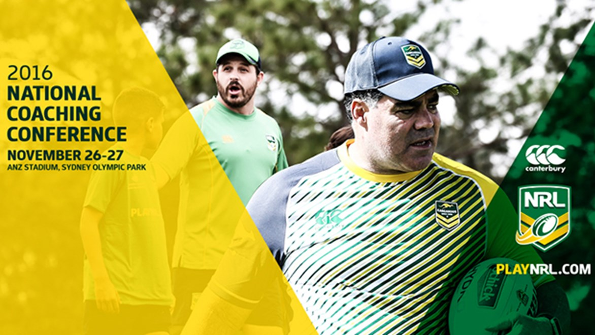 On 26 and 27th November 2016, the NRL will hold its first ever National Coaching Conference at ANZ Stadium in Sydney.