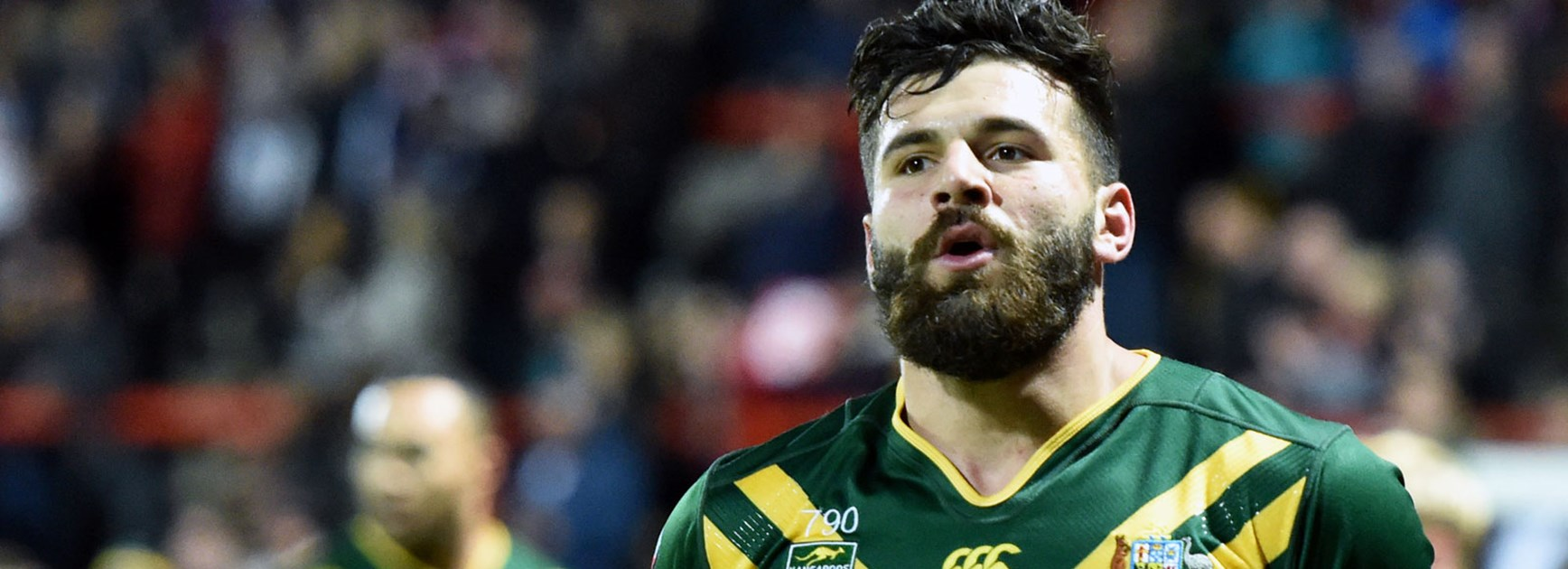 Kangaroos winger Josh Mansour has been ruled out of the remainder of the Four Nations with a knee injury.