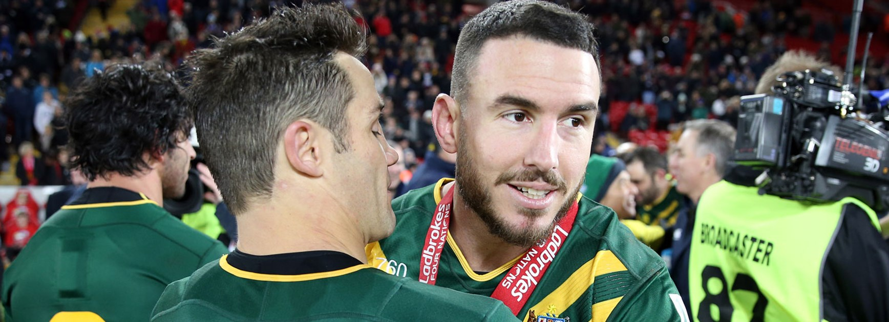 Darius Boyd was named Man of the Match in the 2016 Four Nations Final.