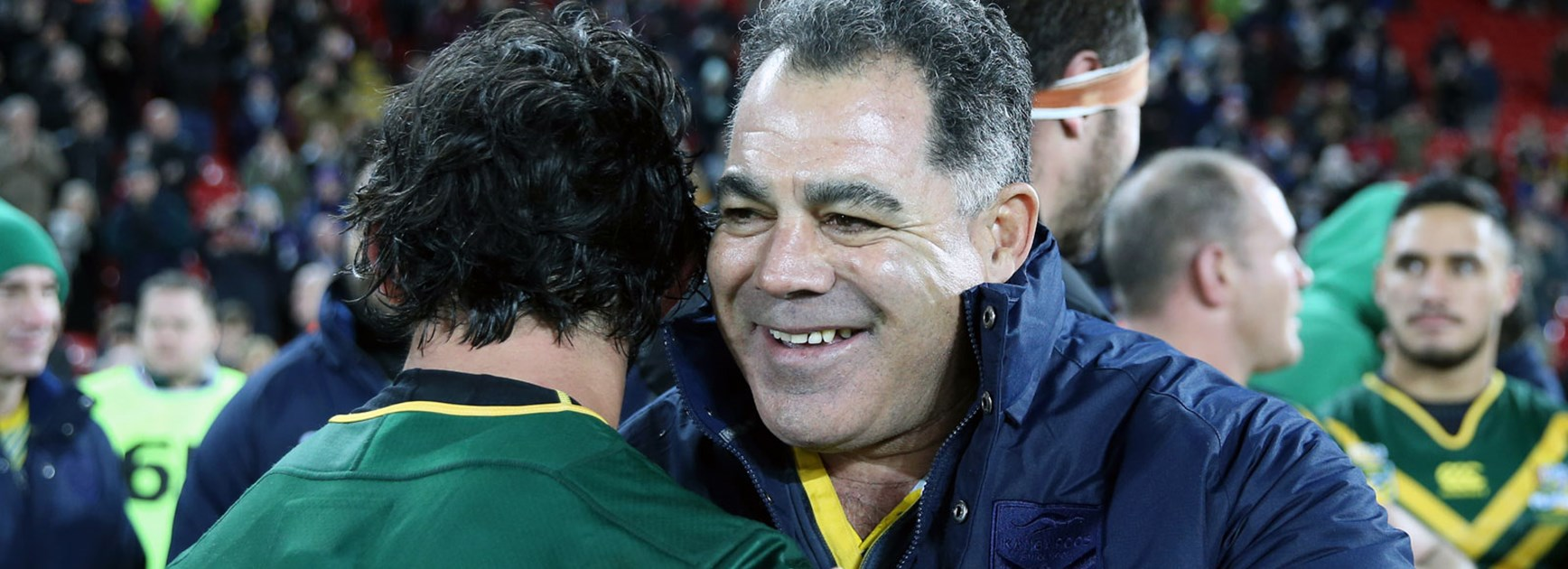 Kangaroos coach Mal Meninga following his side's Four Nations Final win.