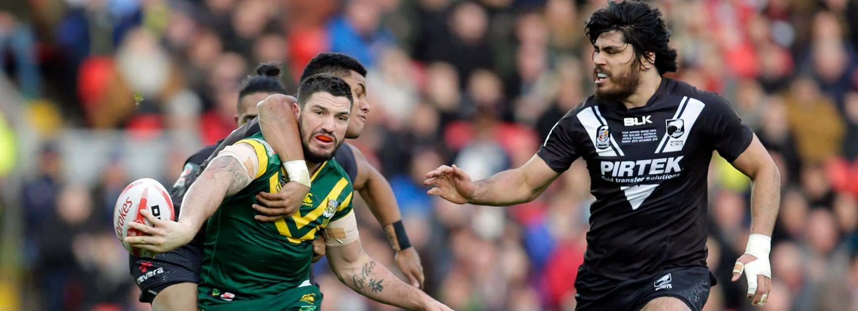 The Kiwis' left-edge defence leaked several tries in the Four Nations final.