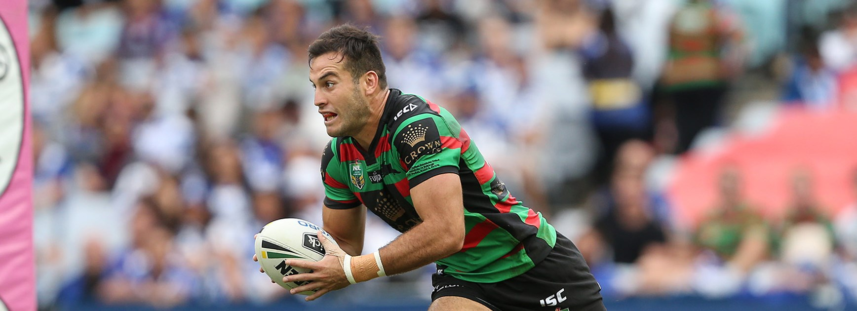 Michael Oldfield failed to make an impact at the Rabbitohs and hopes to finally nail down an NRL position at the Panthers.