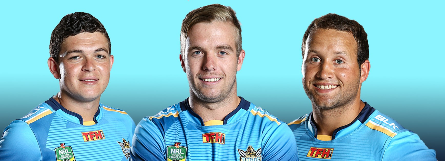Ash Taylor, Kane Elgey and Tyrone Roberts are all fighting to be named as starting halves for the Titans.