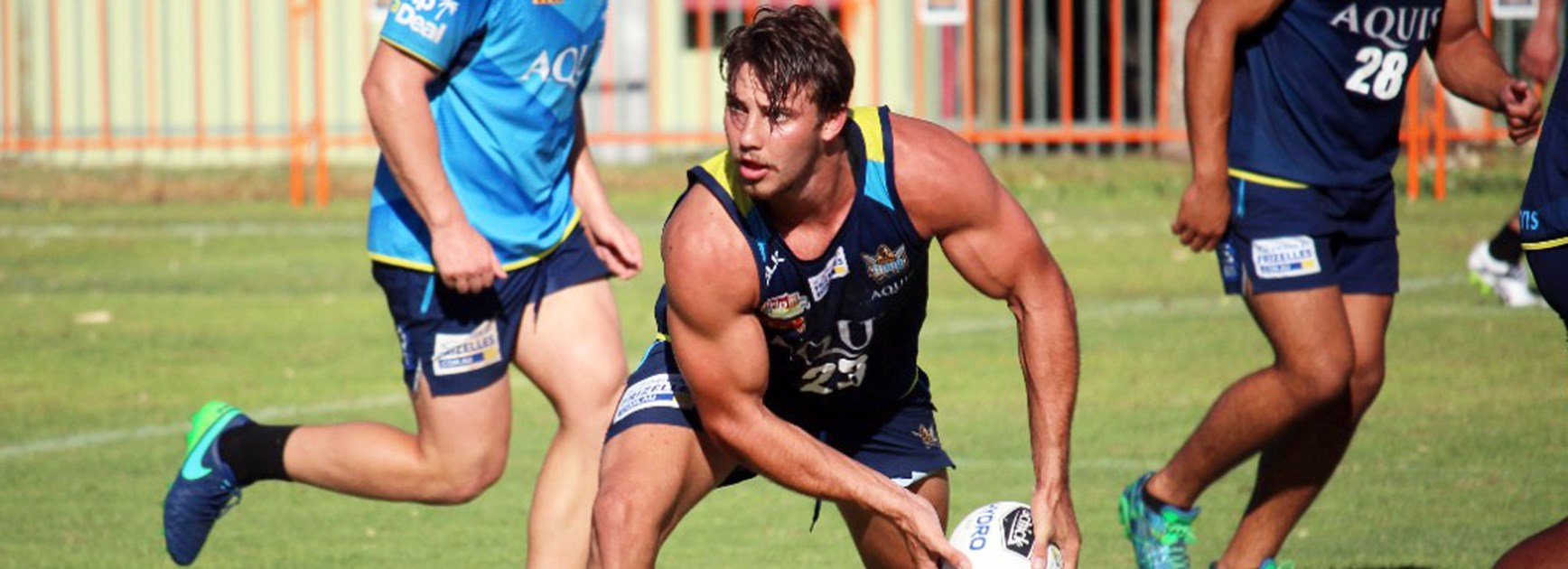 Titans utility Karl Lawton is expected to be named on the bench in Round 1.