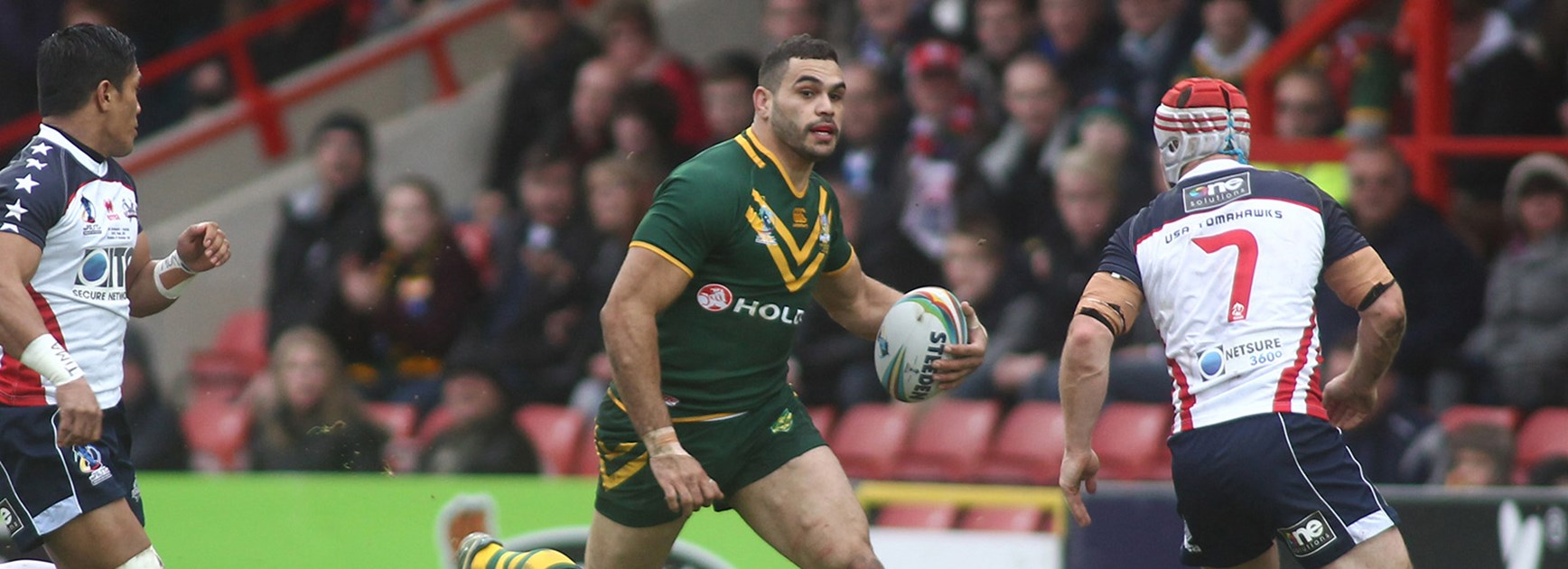 Kangaroos star Greg Inglis is still part of Mal Meninga's Rugby League World Cup plans, if he can be fit for the tournament.